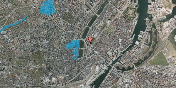 Oversvømmelsesrisiko fra vandløb på Gyldenløvesgade 11, st. , 1600 København V