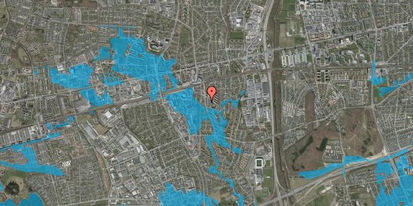 Oversvømmelsesrisiko fra vandløb på Anemonevej 33, 2600 Glostrup