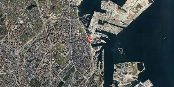 Oversvømmelsesrisiko fra vandløb på Hjørringgade 37, 12. tv, 2100 København Ø