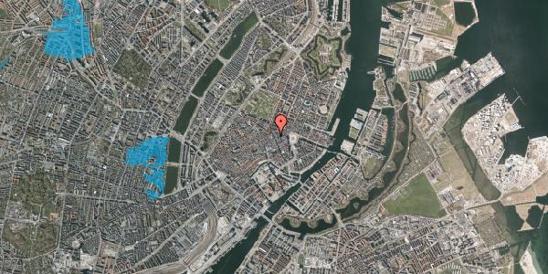 Oversvømmelsesrisiko fra vandløb på Gammel Mønt 5, st. , 1117 København K