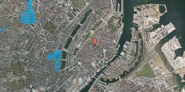 Oversvømmelsesrisiko fra vandløb på Vognmagergade 10, 3. tv, 1120 København K