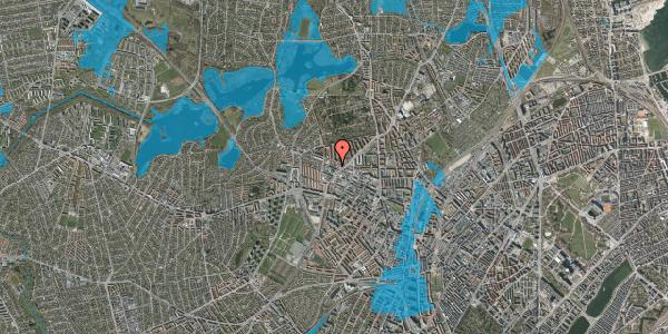 Oversvømmelsesrisiko fra vandløb på Dortheavej 34, 1. 5, 2400 København NV