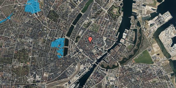 Oversvømmelsesrisiko fra vandløb på Skoubogade 4, 2. , 1158 København K