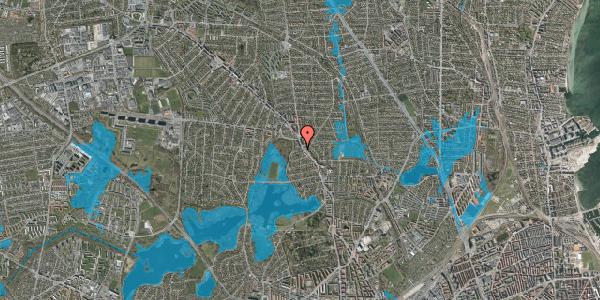 Oversvømmelsesrisiko fra vandløb på Dunhammervej 4, 2400 København NV