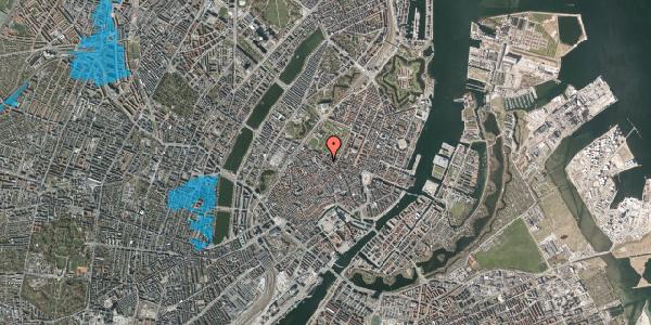 Oversvømmelsesrisiko fra vandløb på Vognmagergade 9, 6. , 1120 København K