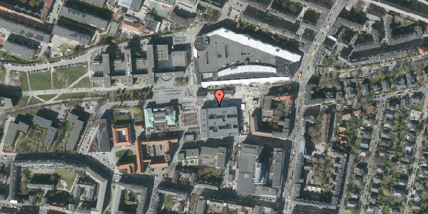 Oversvømmelsesrisiko fra vandløb på Solbjergvej 9, 2000 Frederiksberg