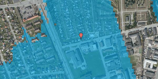 Oversvømmelsesrisiko fra vandløb på Hf. Svarø 8, 2650 Hvidovre
