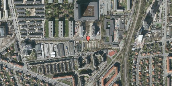 Oversvømmelsesrisiko fra vandløb på Betty Nansens Alle 16B, 2000 Frederiksberg