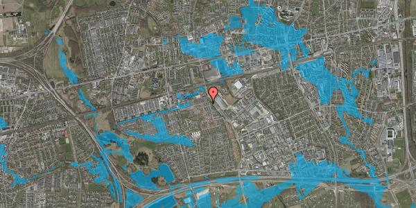 Oversvømmelsesrisiko fra vandløb på Stenkløvervænget 13, 2625 Vallensbæk