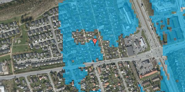 Oversvømmelsesrisiko fra vandløb på Hf. Kettehøj 6, 2650 Hvidovre