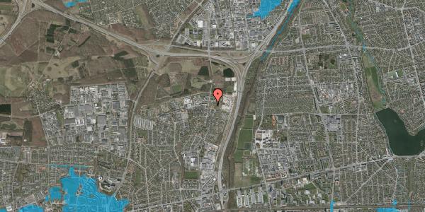 Oversvømmelsesrisiko fra vandløb på Bovneager 21, 2600 Glostrup