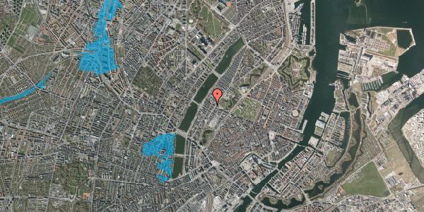 Oversvømmelsesrisiko fra vandløb på Gothersgade 148, st. , 1123 København K