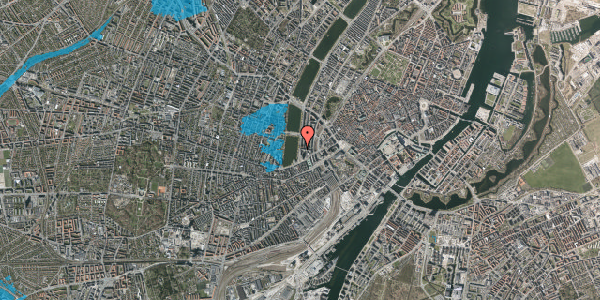 Oversvømmelsesrisiko fra vandløb på Vester Søgade 10, 7. , 1601 København V