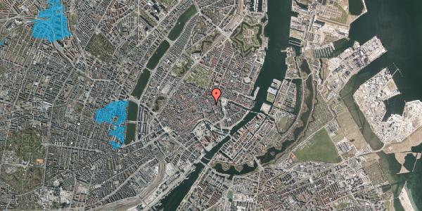 Oversvømmelsesrisiko fra vandløb på Kristen Bernikows Gade 7, 1105 København K
