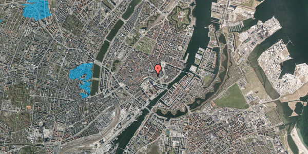 Oversvømmelsesrisiko fra vandløb på Admiralgade 24, st. , 1066 København K