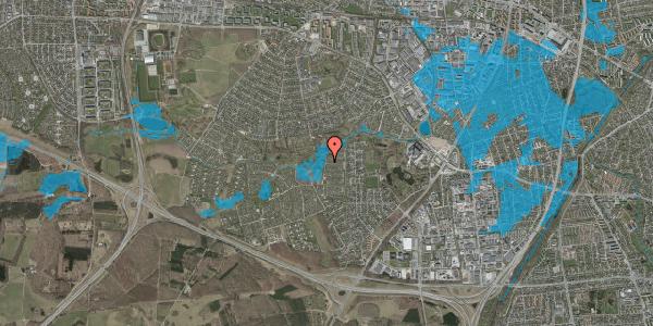Oversvømmelsesrisiko fra vandløb på Vængedalen 732, 2600 Glostrup
