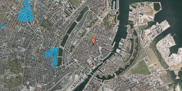 Oversvømmelsesrisiko fra vandløb på Møntergade 16A, 1116 København K