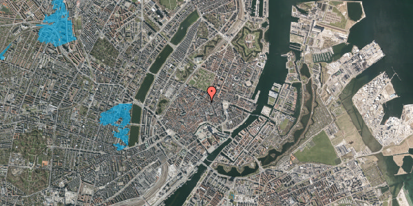 Oversvømmelsesrisiko fra vandløb på Pilestræde 40B, st. , 1112 København K