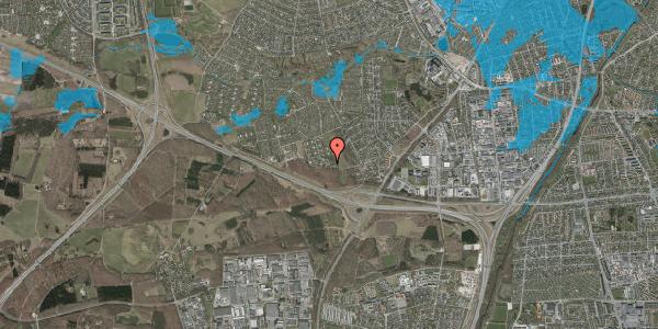 Oversvømmelsesrisiko fra vandløb på Karsevænget 52, 2600 Glostrup