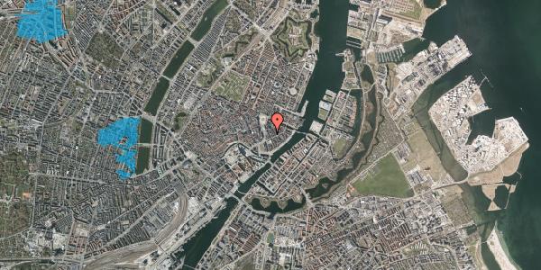 Oversvømmelsesrisiko fra vandløb på Tordenskjoldsgade 15, 4. , 1055 København K