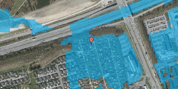 Oversvømmelsesrisiko fra vandløb på Hf. Kettehøj 67, 2650 Hvidovre