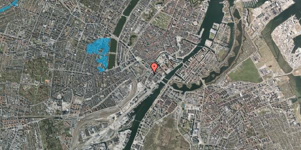 Oversvømmelsesrisiko fra vandløb på Puggaardsgade 1, 1573 København V