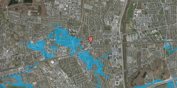 Oversvømmelsesrisiko fra vandløb på Glostrup Shoppingcenter 58, st. , 2600 Glostrup