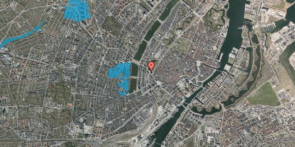 Oversvømmelsesrisiko fra vandløb på Staunings Plads 3, st. , 1607 København V