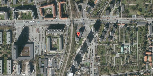 Oversvømmelsesrisiko fra vandløb på Borgmester Fischers Vej 2C, st. , 2000 Frederiksberg