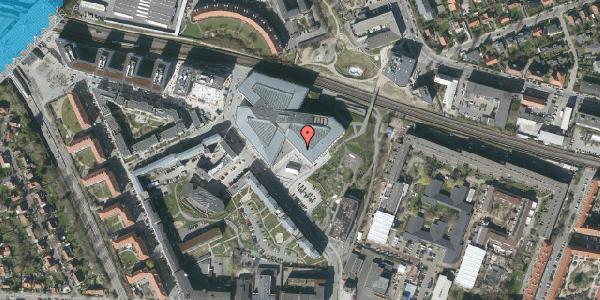 Oversvømmelsesrisiko fra vandløb på Marguerite Vibys Plads 16, 2000 Frederiksberg