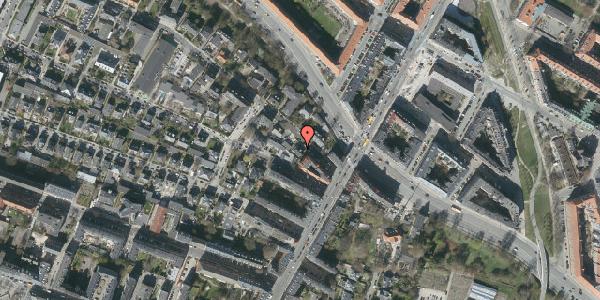 Oversvømmelsesrisiko fra vandløb på Mariendalsvej 3, 2000 Frederiksberg