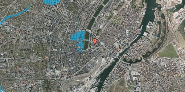 Oversvømmelsesrisiko fra vandløb på Vester Farimagsgade 7, 6. th, 1606 København V