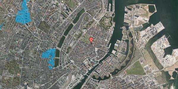 Oversvømmelsesrisiko fra vandløb på Gothersgade 58, 2. th, 1123 København K