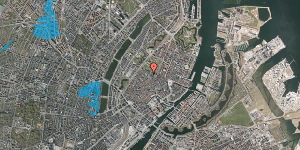 Oversvømmelsesrisiko fra vandløb på Vognmagergade 11, 7. , 1120 København K