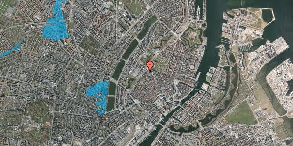 Oversvømmelsesrisiko fra vandløb på Rosenborggade 1B, 1. , 1130 København K