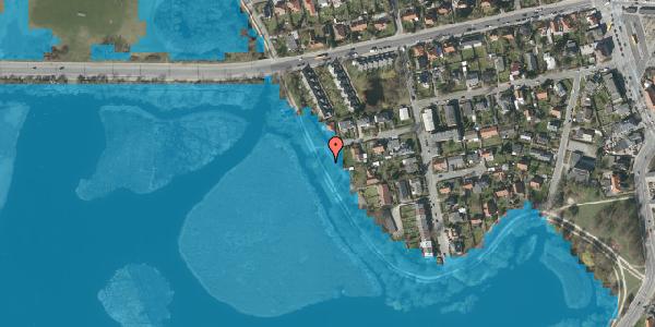 Oversvømmelsesrisiko fra vandløb på Moseskellet 46, 2400 København NV