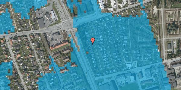 Oversvømmelsesrisiko fra vandløb på Hf. Svarø 29, 2650 Hvidovre