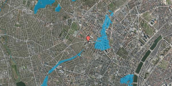 Oversvømmelsesrisiko fra vandløb på Jordbærvej 25, 2400 København NV