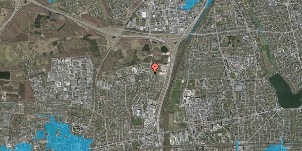 Oversvømmelsesrisiko fra vandløb på Bovneager 159, 2600 Glostrup