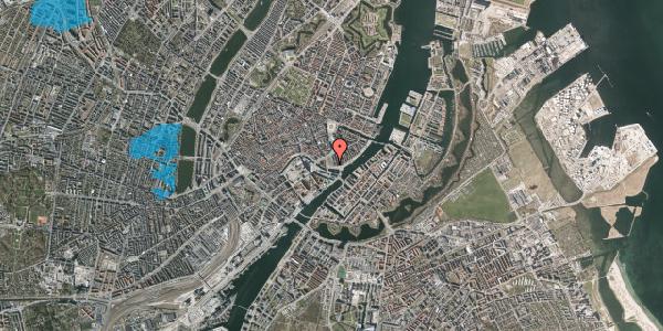 Oversvømmelsesrisiko fra vandløb på Havnegade 3, 1058 København K