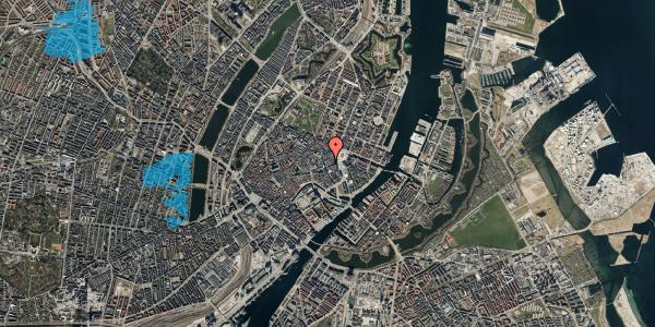 Oversvømmelsesrisiko fra vandløb på Lille Kongensgade 20B, 3. , 1074 København K