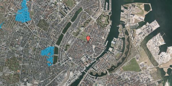 Oversvømmelsesrisiko fra vandløb på Møntergade 24, st. tv, 1116 København K