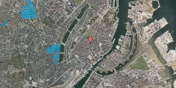 Oversvømmelsesrisiko fra vandløb på Købmagergade 46A, 1. , 1150 København K
