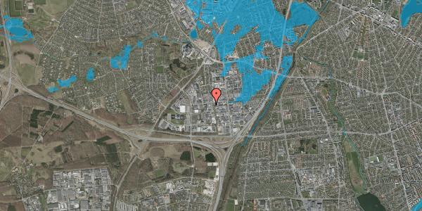 Oversvømmelsesrisiko fra vandløb på Erhvervsvej 18, 1. , 2600 Glostrup