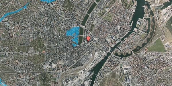 Oversvømmelsesrisiko fra vandløb på Meldahlsgade 5, 2. , 1613 København V