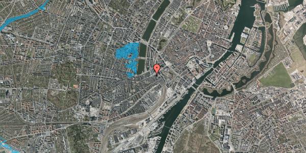 Oversvømmelsesrisiko fra vandløb på Vesterbrogade 9B, 1. , 1620 København V