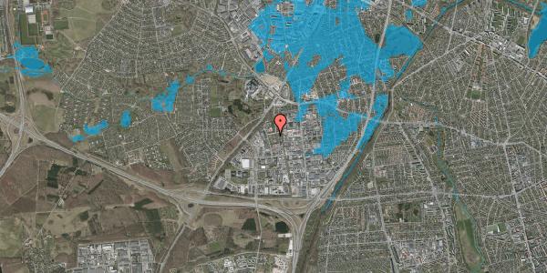 Oversvømmelsesrisiko fra vandløb på Ejbyholm 43, 2600 Glostrup