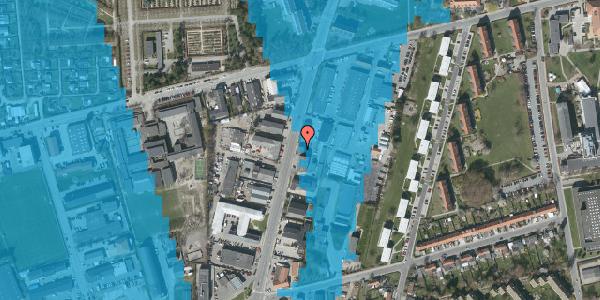 Oversvømmelsesrisiko fra vandløb på Arnold Nielsens Boulevard 67, 2650 Hvidovre