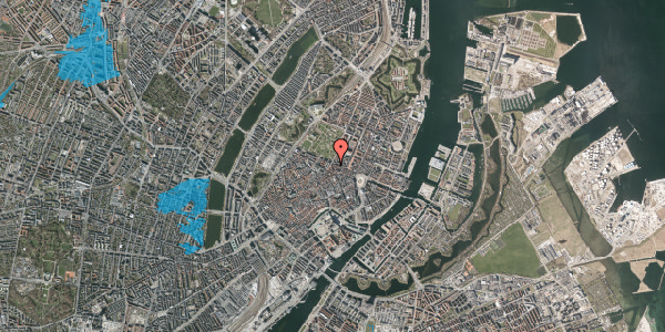 Oversvømmelsesrisiko fra vandløb på Christian IX's Gade 7, 3. , 1111 København K