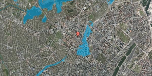 Oversvømmelsesrisiko fra vandløb på Lærkevej 18, 3. , 2400 København NV